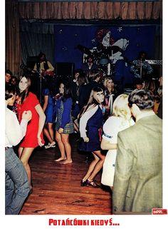 Potańcówki kiedyś...