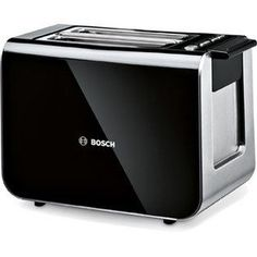 18% OFF, Now for £55.00, Bosch TAT8613GB Toaster Black / Stainless Steel deals at DealDoodle UK