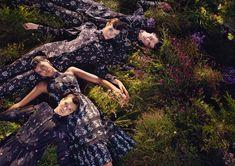 Michal Pudelka photographs ERDEM x H&M campaign