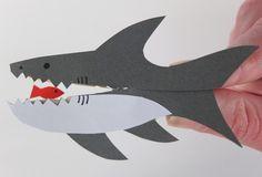 knijper haai open