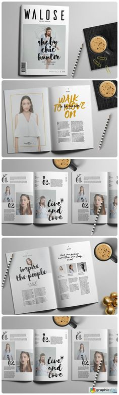 InDesign Magazine Template 575634 …