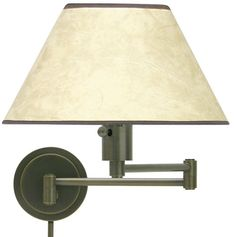 House of Troy WS1491 WS14 Decorative Swing Arm Wall Lamp in Oil Rubbed Bronze - HOT-WS14-91
