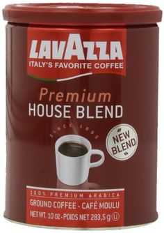 Lavazza Premium House Medium Roast  Blend Coffee 10Ounce Pack of 4 *** You can find more details by visiting the image link.