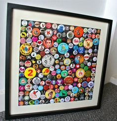Image result for button pin collection display