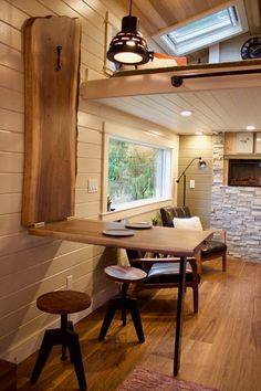 Double Loft Luxury Big Outdoors Tiny House by Tiny Heirloom 005