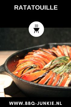 Ratatouille, Skillet, Barbecue, Vegetables, Winter, Ethnic Recipes, Food, Winter Time, Barbacoa