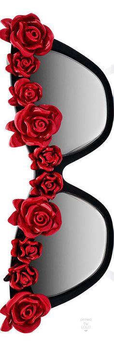 Anna-Karin Karlsson 'Cause I Flippin' Can Rosette Cat-Eye Sunglasses | LOLO❤︎