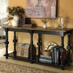 OHHHHH - LOVE this console table