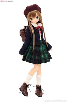 Azone Pure Neemo EX Cute: Gemini of June Tsukiha 1:6 Doll