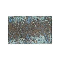 Kaleen Brushstrokes Motion Abstract Wool Rug, Brown, Durable