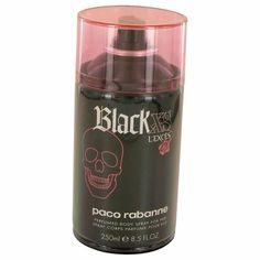 Black Xs L'exces by Paco Rabanne 8.5 oz perfume Body Spray for Women #PacoRabanne