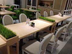 #實木餐桌椅-梨子咖啡廳 崇德店