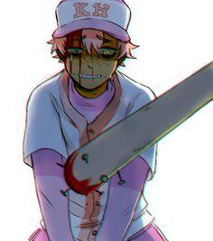 baseball uniforms + blood ^^ mmmmm from tokimekiwaku's liar liar game!!!