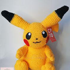 Pattern Free Amigurumi Pikachu Pokémon. Come to know us for our facebook  and website. Patrón gratis Amigurumi Pikachu Pokémon. Pasa a conocernos por nuestro facebook y sitio web. www.tarturumies.com https://www.facebook.com/Tarturumies