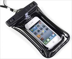 Quick way to make your phone waterproof !