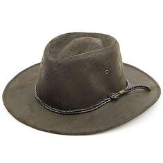 #Australian bush hat #cowboy stetson #aussie outback dark brown smooth soft new,  View more on the LINK: 	http://www.zeppy.io/product/gb/2/262643599214/