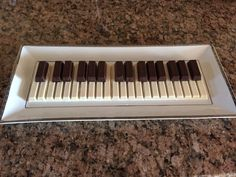 Kit Kat piano for Piano Recital reception. Piano Recital, Movie Themes, Party Treats, Cute Cakes, Reception Ideas, Creative Food, 1st Birthday Parties, Baby Showers, Special Occasion
