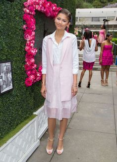 Zendaya Coleman at the LadyLike Foundation 7th Annual Women of Excellence scholarship luncheon. See all of the actress's best looks.