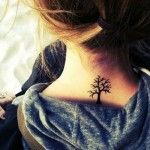 Tree Tattoos for Women on Neck stick to your roots but don't be afraid to branch…