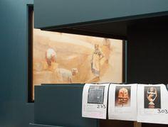 Montaxe da exposición no Museo Centro Gaiás. Foto: Manuel G. Vicente