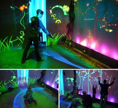 Funky Forest Interactive Installation: