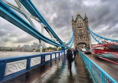 London's Bridges, Tunnels and Ferries: Top 5 ways to cross the Thames. (Photo via Trey Ratcliff)