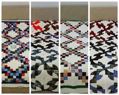 Memorial quilts made from kilts & wool coats