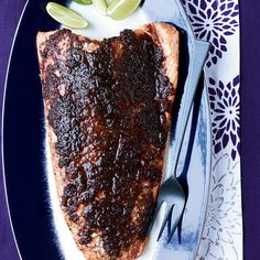 Top Chef Masters winner Floyd Cardoz reveals his secrets to slow-roasting salmon with spicy ginger, sweet maple syrup, tangy tamarind and smoky chipotles.