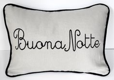 good night in Italian. Good Night Wishes, Wishes For You, Sweet Night, Good Mood, Hush Hush, Sweet Dreams, Good Morning, Pillow Covers, Words