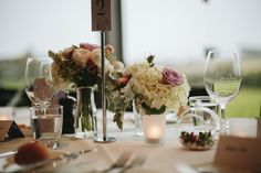 A classic summer combination or roses, peonies and hydrangea