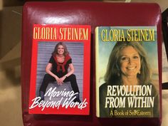 Gloria Steinem Moving Beyond Words * Revolution From Within Signed 1st & Limited