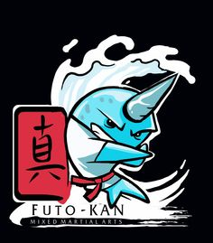 Futo-Kan's Karate Narwhal t-shirt by marmoset