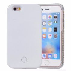 Rechargeable Lumee Selfie LED Light Case for iPhone