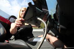 Sir James car iPad KFZ-Halterung aus Edelstahl mit TÜV Zertifikat!