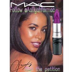 #Aaliyahformac #Aaliyah @zaamnzaddyy @Maccosmetics @AaliyahHaughton #Mac don\'t keep us waiting we are only human who want what is best for…