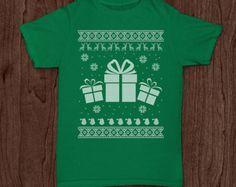 Gifts ugly Christmas sweater Christmas shirt funny t-shirt tee tshirt family holiday shirt kid's infant's youth holiday tee shirt tshirt