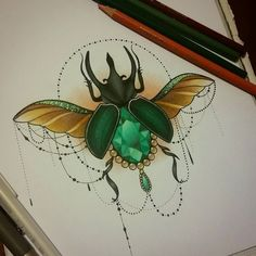 Tattoo design by Sophie Adamson. Check http://vk.com/art_tendencies for more similar sketches.
