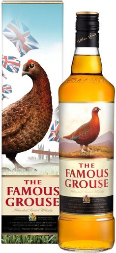 The Famous Grouse - if you're looking for a first scotch, or your first sipping whiskey, this is not a bad place to start. Affordable and unobtrusive, the Grouse is a smooth, if not a bit dull, blended scotch.