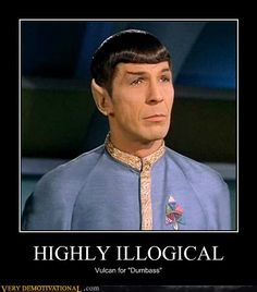 LOL...love Spock