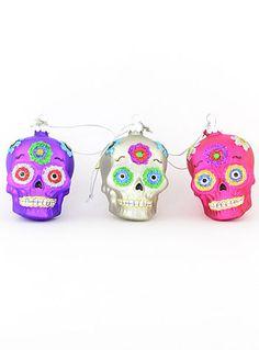 Día  De Los Muertos Ornaments |