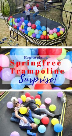 How to plan a Springfree Trampoline Surpr