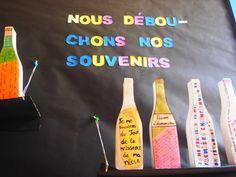 Taller amb ampolles sagrat cor besos. Escola impremta.