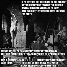 Never again will Christians have this kind of privilege.