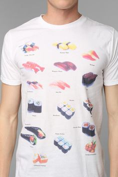 Sushi Tee #urbanoutfitters
