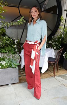 How to style a scarf as a belt