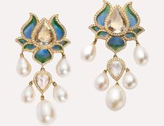 Lotus Earrings | Munnu The Gem Palace