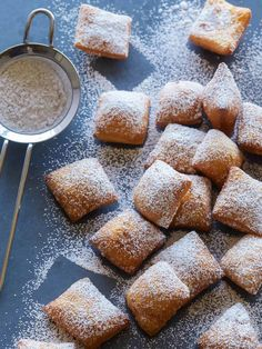 Donut Recipes, Baking Recipes, Cookie Recipes, Dessert Recipes, Baking Ideas, Beignets, Slow Food, Food 52, Cannoli