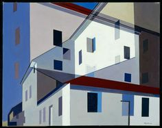 "Charles Sheeler, On a Shaker Theme, 1956 From the Museum of Fine Arts, Boston: "" In 1946, Sheeler had begun to experiment with composite photography as a basis for his paintings. He superimposed..."