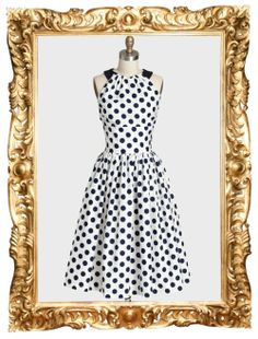 Olivia Polka Dot Dress by Queen of Heartz - $79.50 (was $119.99)