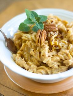 Pumpkin Alfredo - Manifest Vegan - will have to think about this one, usually don't like this much tofu in my diet